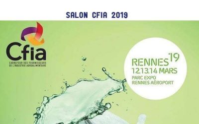 Participation au salon CFIA 2019