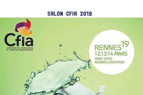 Participation au salon CFIA 2019