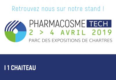 Tripette & Renaud expose au 1er salon Pharmacosmetech du 2 au 4 Avril à Chartres