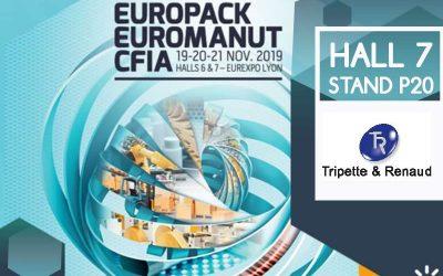 Rencontrez-nous à Europack Euromanut