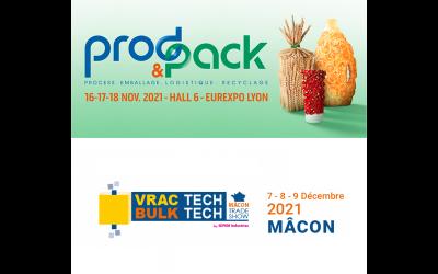 Salons Prod&pack et Vractech